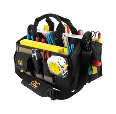 CLC Tool Bag 9 in. H x 16 in. L x 13-1/2 in. W 8 inside pockets 8 outside pockets