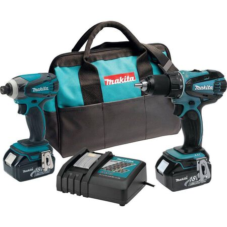 18-Volt Lithium-Ion Cordless Combo Kit (2-Piece)