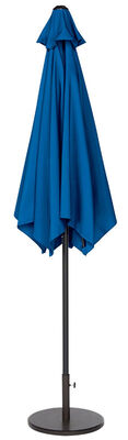 Living Accents 9 ft. Dia. Tiltable Patio Umbrella Royal Blue