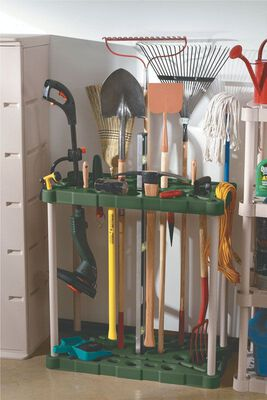 Rubbermaid 37 in. H x 18 in. L x 36 in. W Plastic Tool Tower