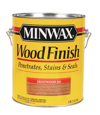 Minwax Wood Finish Transparent Oil-Based Wood Stain Fruitwood 1 gal.