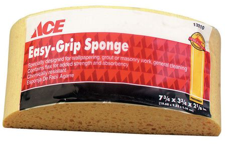 Ace Turtleback sponge 7-3/4 in. L 1 pk