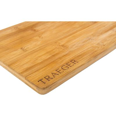 Traeger 12 in. L x 13-1/2 in. W Bamboo Cutting Board
