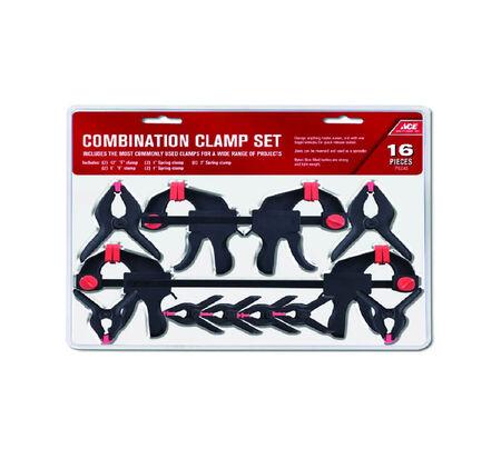 Ace Combination Clamp Set 16 pc.