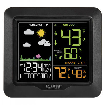Wireless Color Forecast Station