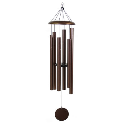 "Corinthian Bells, 53"" Copper Vein Windchime"