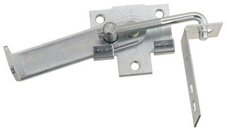 Stanley Steel Jamb Latch 2-7/8 in. W x 7-1/8 L 1