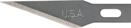 Ace Carbon Steel Hobby #11 Hobby Knife Replacement Blade 15 pk