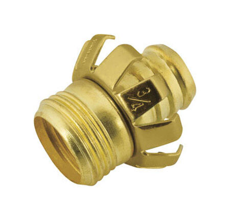 Ace 3/4 in. Metal Clinch Hose Mender Clamp Male Threaded