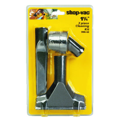 Shop-Vac Cleaning Accessory Kit 1-1/4 in. Dia. 3 pc.