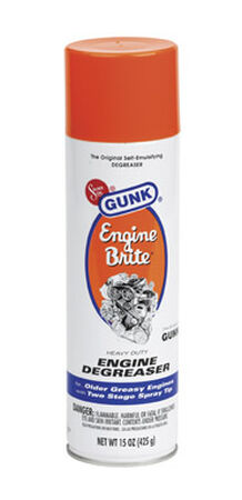 Gunk Engine Brite Engine Degreaser 15 oz. Aerosol Spray Can