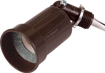 Sigma Lamp Holder 5-5/16 in. L x 2-3/8 in. H Bronze