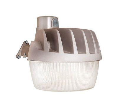 All-Pro Dusk to Dawn LED Gray Yard/Barn Light 33.4 watts 1 pk