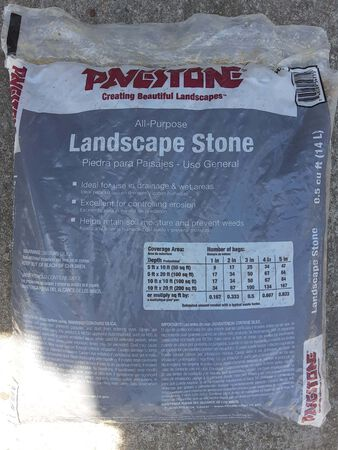 Pavestone All Purpose (Drainage) Stone .5 cu. ft.
