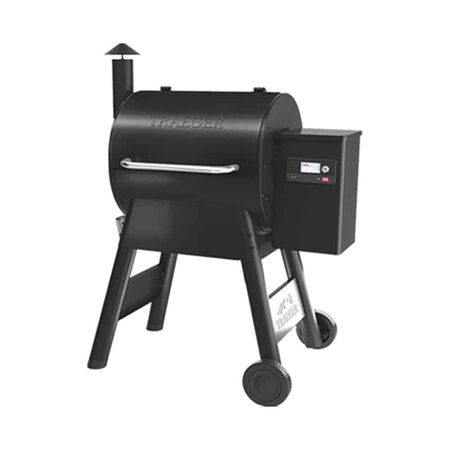 Traeger Pro 575 Wood Pellet Grill Black with Wifire Technology