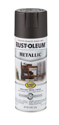Rust-Oleum Stops Rust Oil Rubbed Bronze Metallic Spray 11 oz.