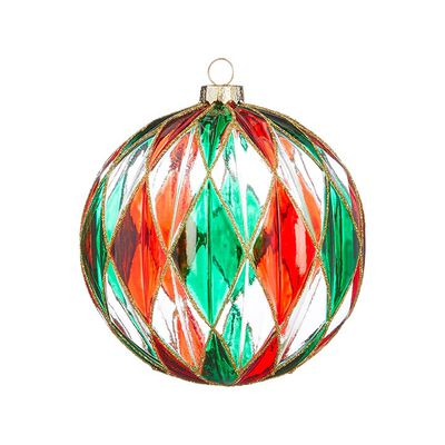 "4.5"" Stained Glass Ornament"
