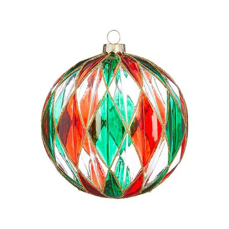 """4.5"""" Stained Glass Ornament"""