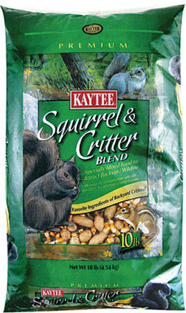 Kaytee Wildlife Food Squirrel and Critter Food Corn 10 lb.