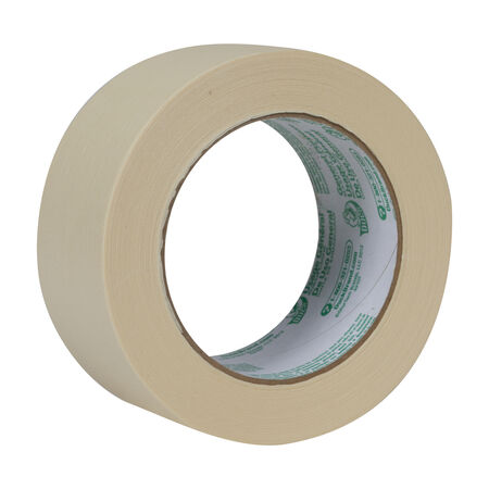 Duck 1.88 in. W x 60 yd. L Beige Regular Strength Masking Tape 1 pk