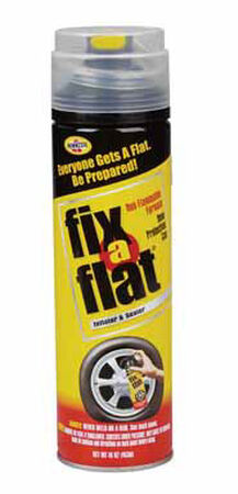Fix-A-Flat Inflator and Sealer 16 oz. Standard Tire