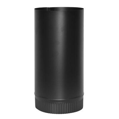 Imperial Manufacturing 6 in. Dia. x 24 in. L Steel Stove Pipe Black