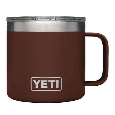 YETI Rambler Stainless Steel Brick Red Insulated Mug 1 pk 14 oz.