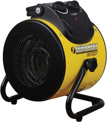 Heater Electric Forced Air 1500w