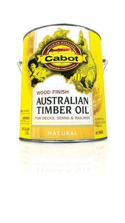 Cabot Transparent 19400 Neutral Oil-Based Natural Oil/Waterborne Hybrid Australian Timber Oil