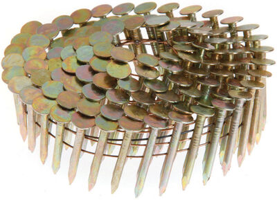Grip-Rite 1-3/4 in. x .120 in. L Electrogalvanized Coil Roofing Nails 7 200 pc.