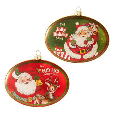 "4.5"" Holiday Games Disc Ornament"