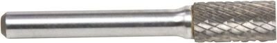 Forney 3/8 in. Dia. Cylinder Cylindrical Carbide Burr