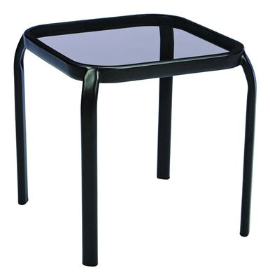 Living Accents Newport Square Smoke End Table