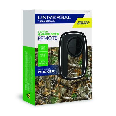 Chamberlain Clicker 2 Door Garage Door Opener Remote For All Major Brands Manufactured After 199