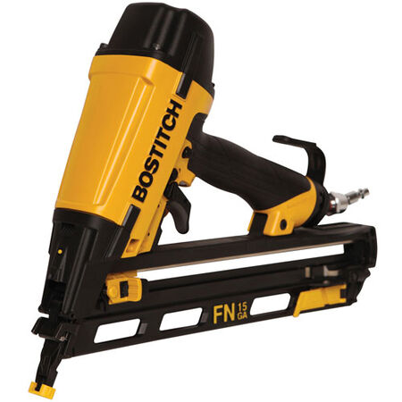 Bostitch Pneumatic 15 Ga. FN 34 deg. Finish Nailer Kit