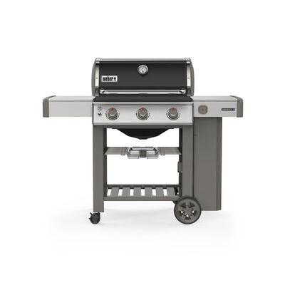 Weber Genesis II E-310 3 burners Propane Grill Black 39000 BTU