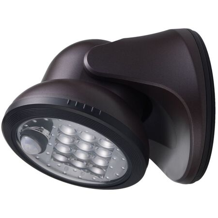 Fulcrum LIGHT IT Bronze LED Outdoor Sensor Light