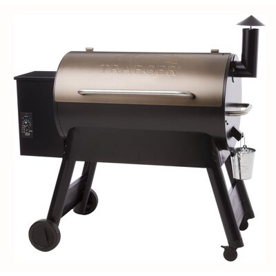 Traeger Pro Series 34 Wood Pellet 49 in. H Grill Bronze 36 000 BTU