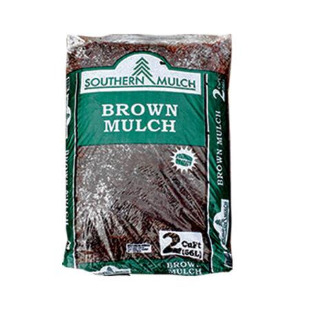 Southern Mulch Brown Mulch 2 cu. ft.