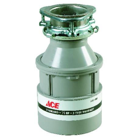 Ace Garbage Disposal 1/2 hp White