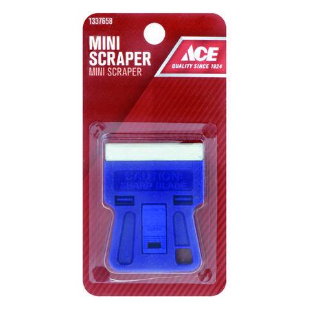 Ace 1.5 in. W Steel Single-Edge Glass Scraper