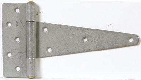 Ace Steel Heavy Duty T Hinge 8 in. L Galvanized 1 pk