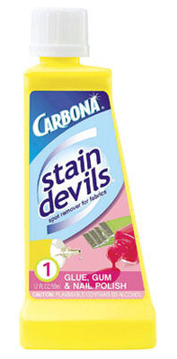 Carbona Stain Devils Nail Polish Glue & Gum Stain Remover