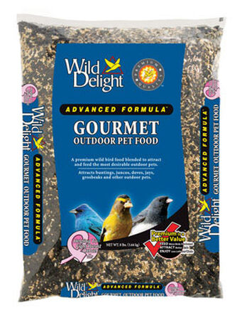 Wild Delight Advanced Formula Assorted Species Wild Bird Food Sunflower Seeds 8 lb.