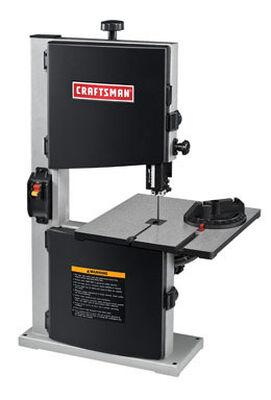 Craftsman Bench Band Saw 2.5 amps 2460 rpm 120 volts 1/4 hp 45 deg.