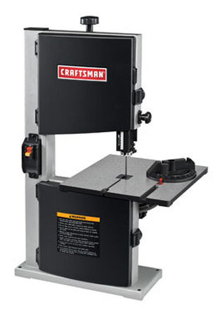 Craftsman Bench Band Saw 2.5 amps 2460 rpm 120 volts 1/4 hp 45 deg.