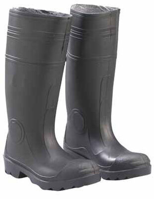 Onguard Black Waterproof Boots Size 12 Male