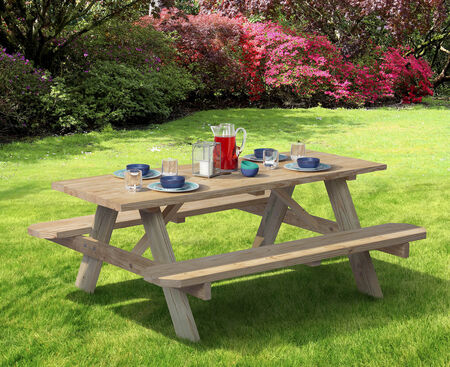 Table Picnic Trtd Legs--UA