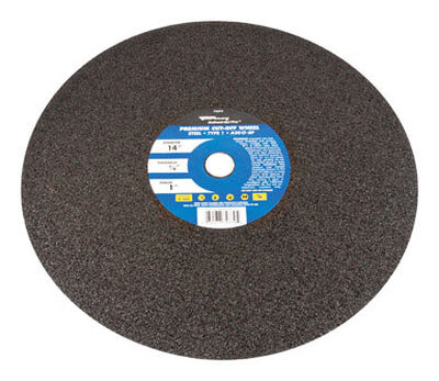 Forney 14 in. Dia. x 1/8 in. thick x 1 in. Metal Cutting Wheel