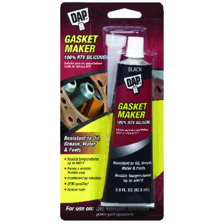 DAP Silicone Gasket Sealant Black 2.8 oz.